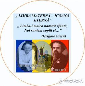 LIMBA MATERNĂ – ICOANĂ ETERNĂ